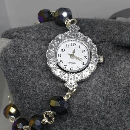 Crystal Watch Bracelet
