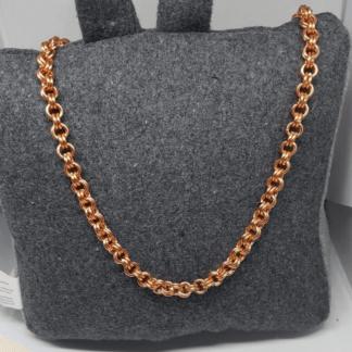 Copper Belcher Chain Necklace