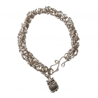 Owl Chain Bracelet