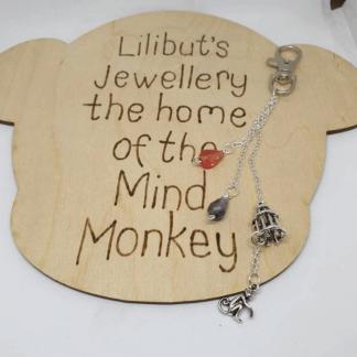 Mind Monkey Bag Charm